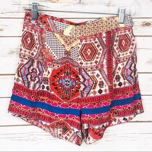 Lush Red, White, and Blue Shorts